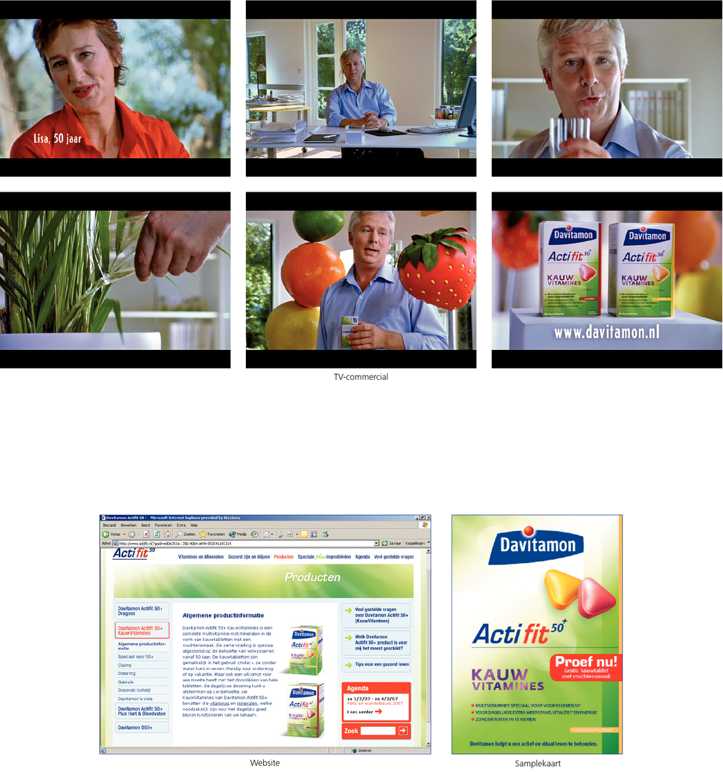 Davitamon Actifit 50+ KauwVitamines