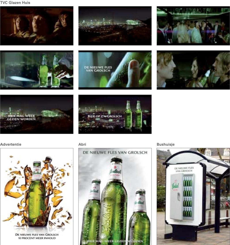 De nieuwe fles van Grolsch