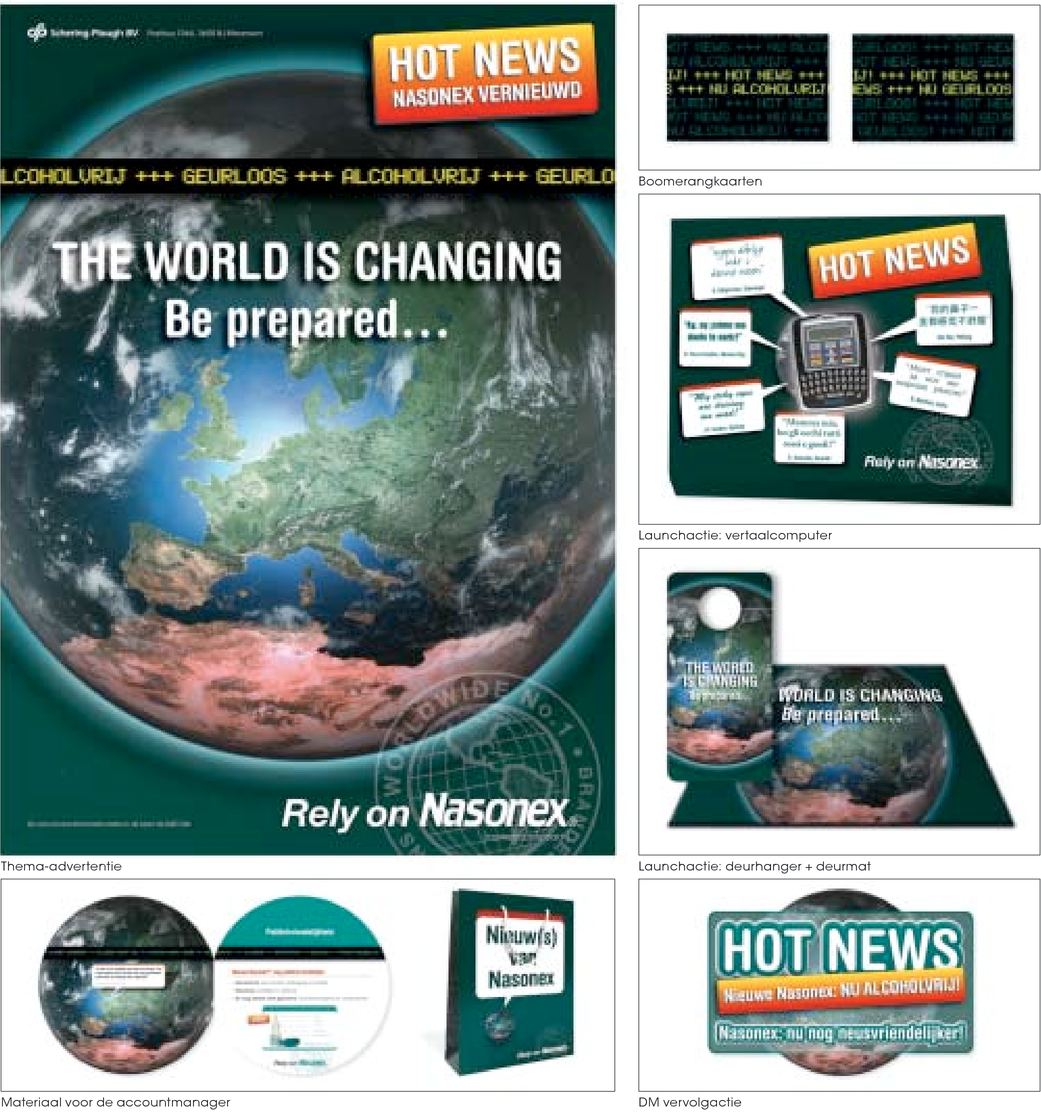 The world is changing: be prepared... Rely on Nasonex
