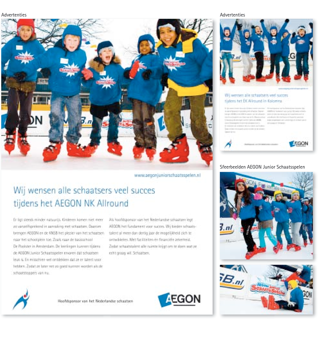 AEGON Junior Schaatsspelen