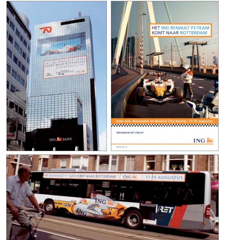 ING F1-sponsoring