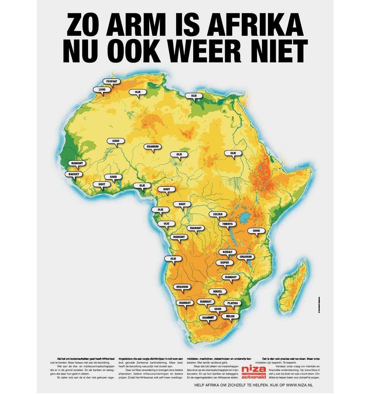 ZO ARM IS AFRIKA NU OOK WEER NIET