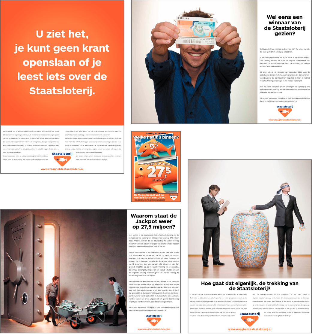 TRANSPARANTIE CAMPAGNE (4 ADVERTENTIES)