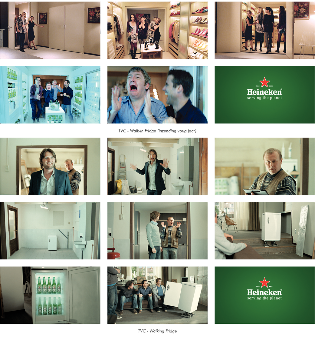 HEINEKEN WALK-IN FRIDGE CASE