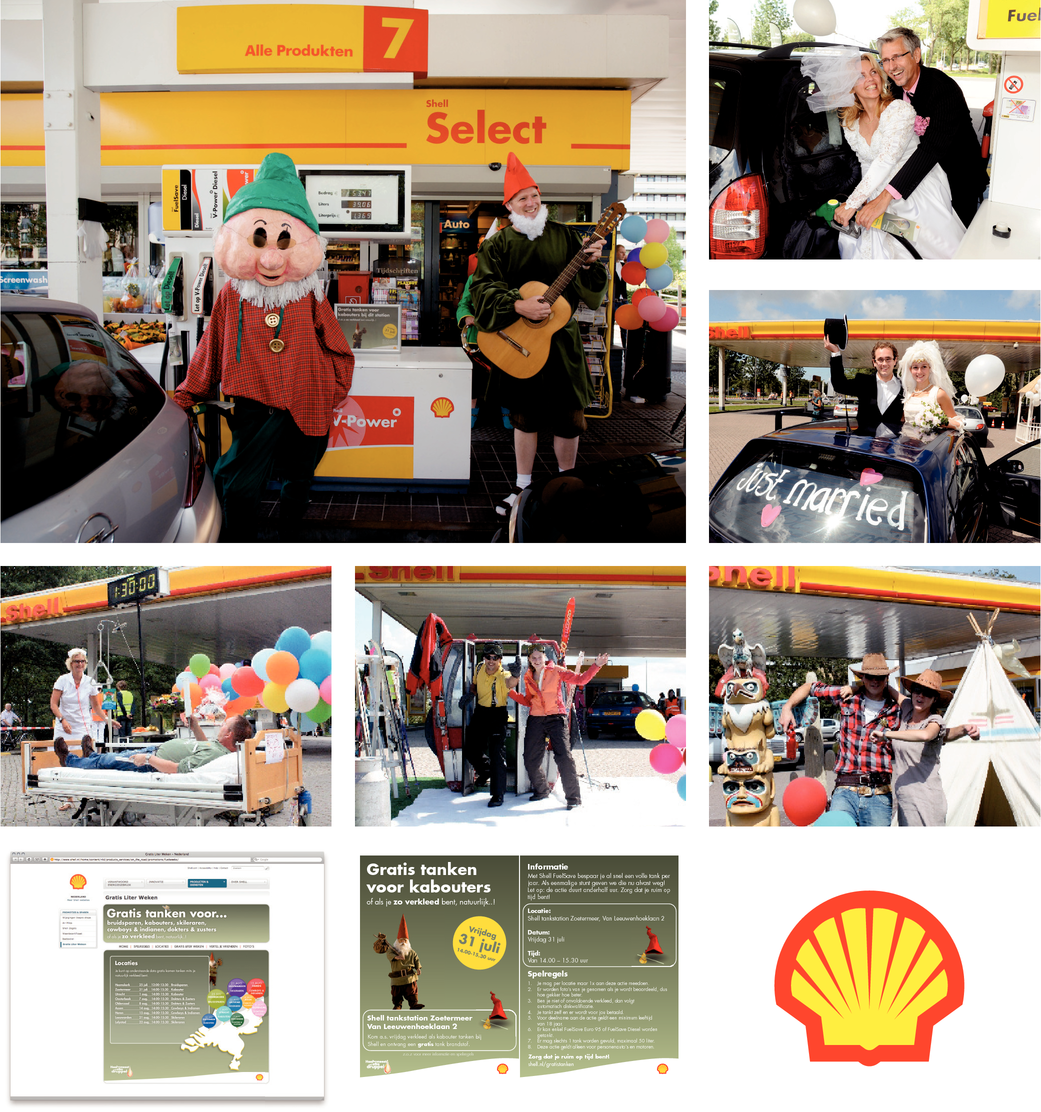 INTRODUCTIECAMPAGNE SHELL FUELSAVE / TYPETJE TANKEN