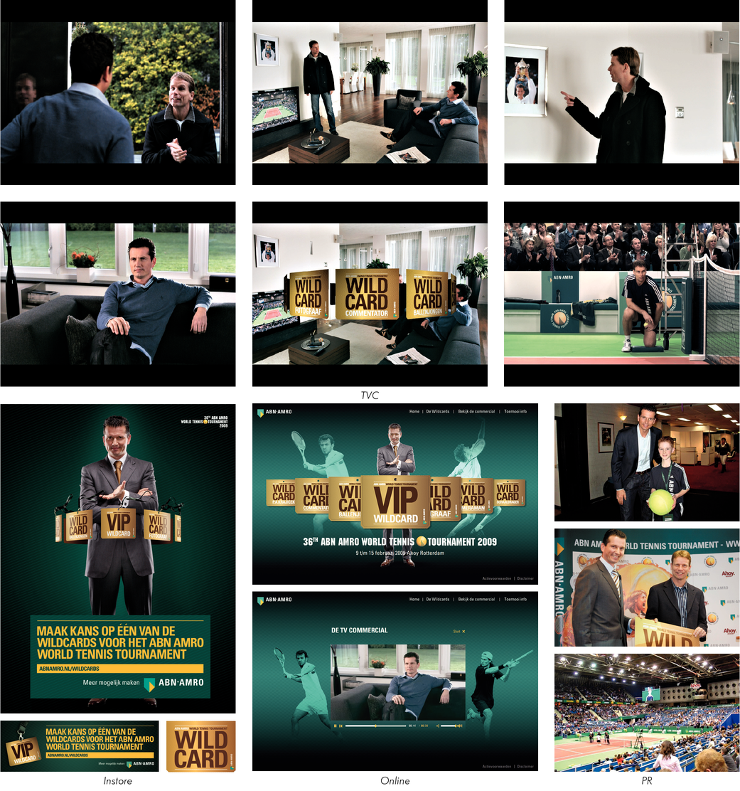 ABN AMRO WILDCARD CAMPAGNE