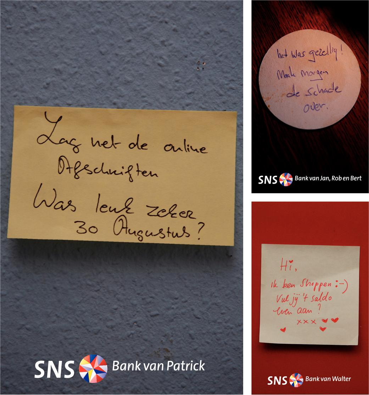 Merkcampagne SNS Bank