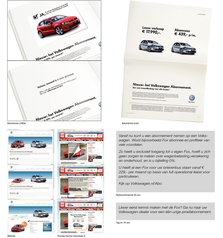 Volkswagen Abonnementen