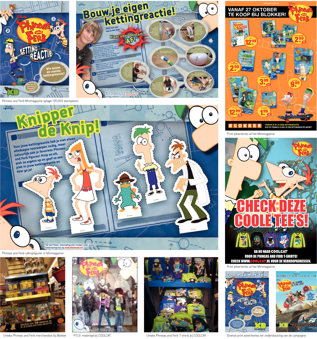 Phineas and Ferb Kettingreactie