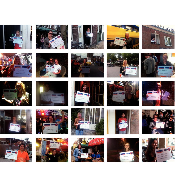 Mobielbankieren campagne studenten 2011