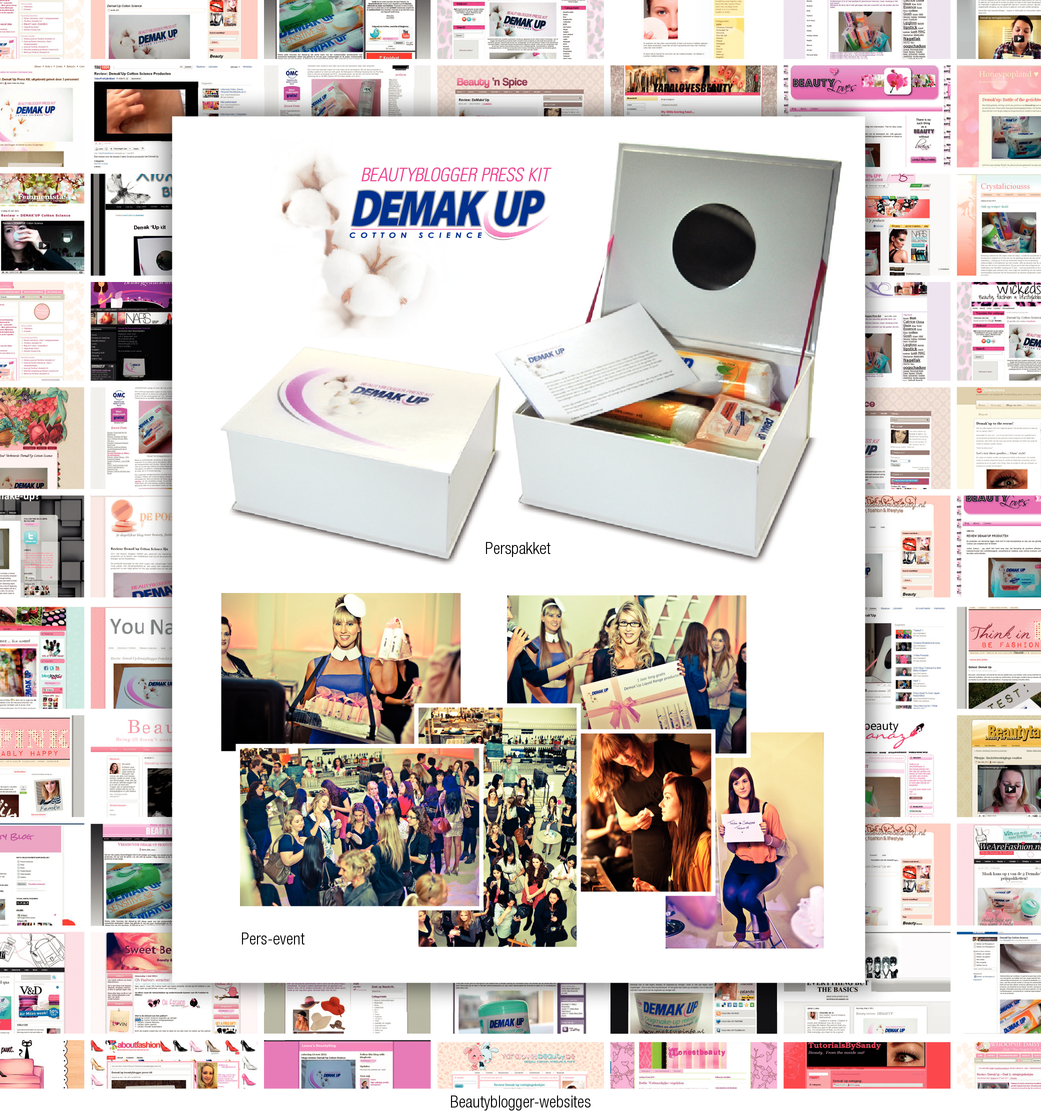 Demak'Up Beautybloggers campaign