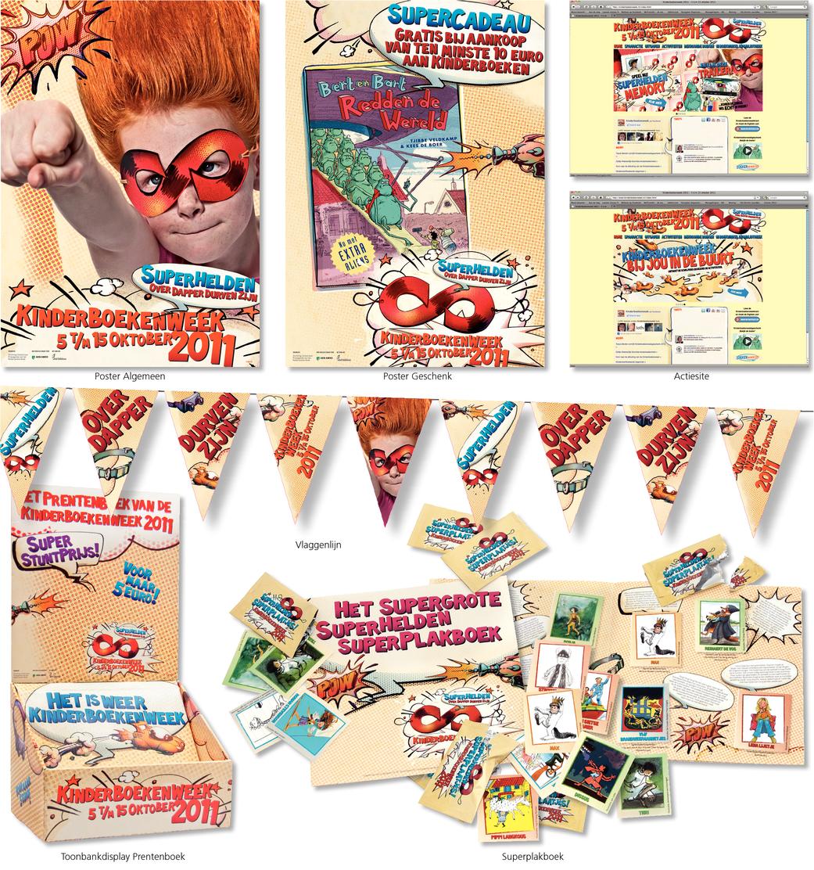 Superhelden - Kinderboekenweek 2011