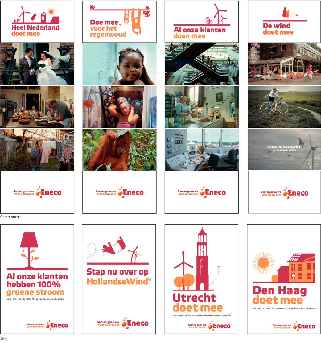 Eneco Corporate campagne totaal
