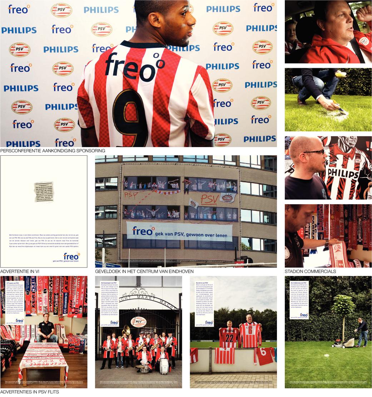 Freo sponsorcampagne PSV