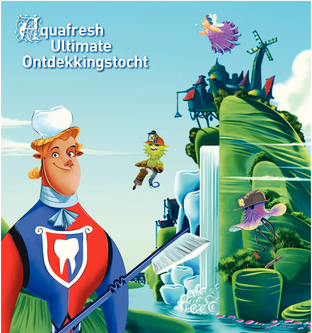 Aquafresh Ultimate Ontdekkingstocht