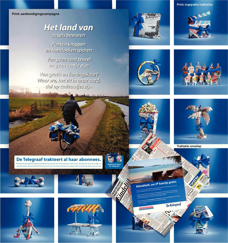 Nederland leest De Telegraaf