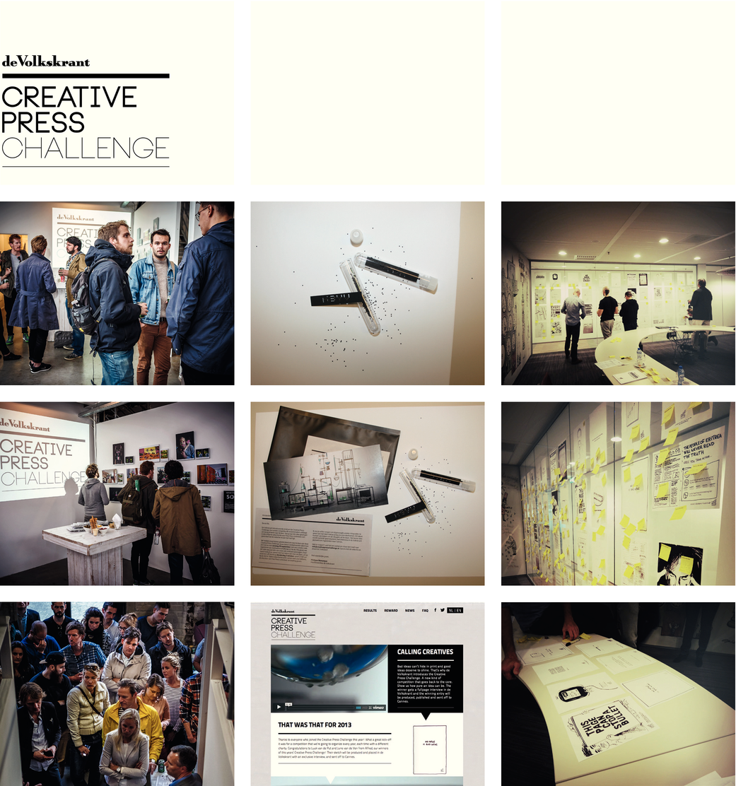 de Volkskrant Creative Press Challenge