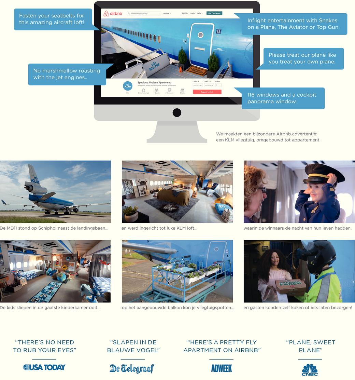KLM Airbnb Partnership