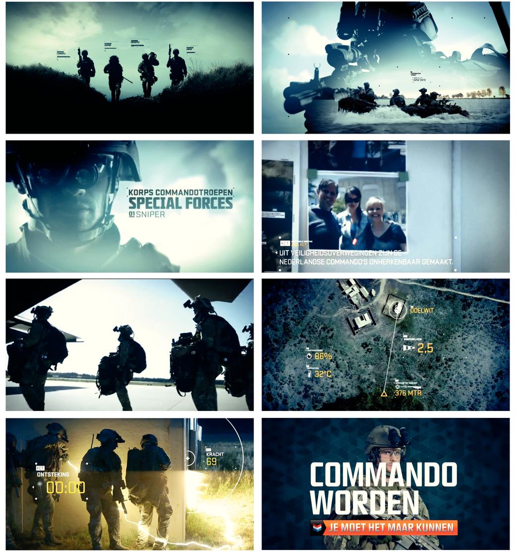 Wervingscampagne 'Korps Commando Troepen'