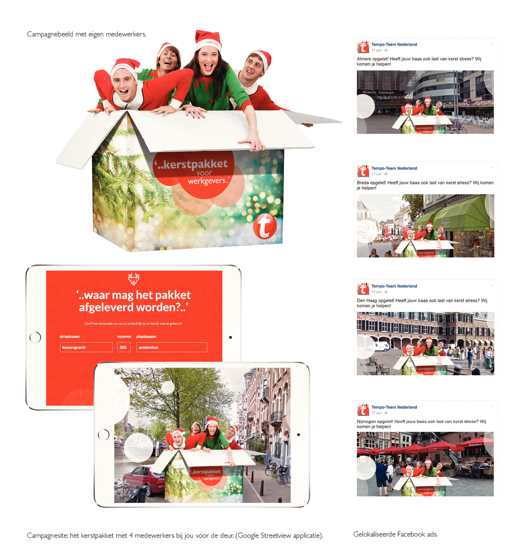 Kerstpakketten Campagne