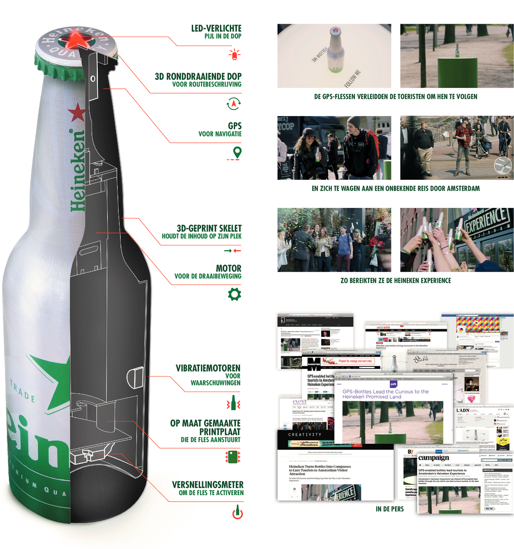 The bottle with a mission