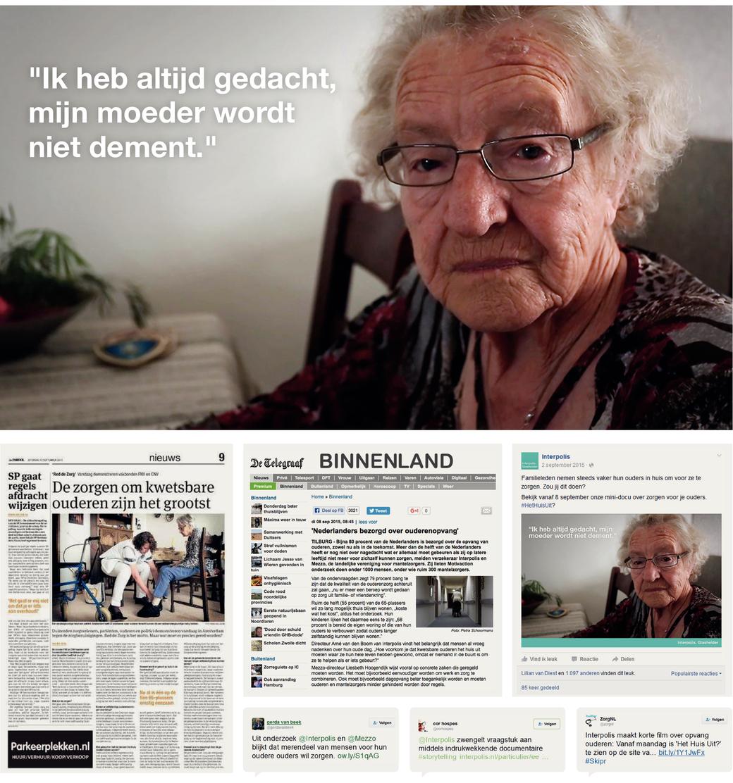 Het Huis Uit? Een documentaire van Jessica Villerius over ouderenzorg