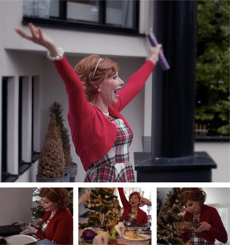 Kerstparodie Marijke Helwegen