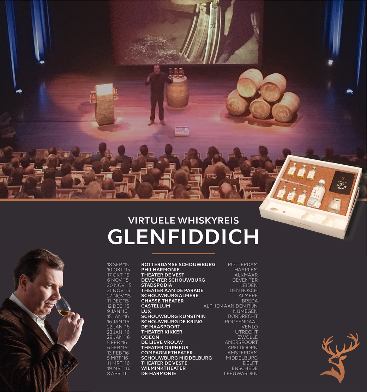 Virtuele Whiskyreis Glenfiddich