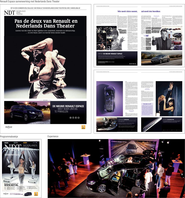 Pas de Deux: Renault Espace en Nationaal Dans Theater