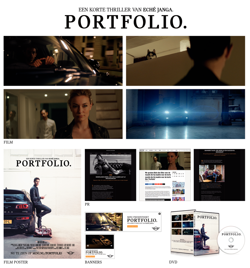 MINI Portfolio. Een korte thriller met MINI.