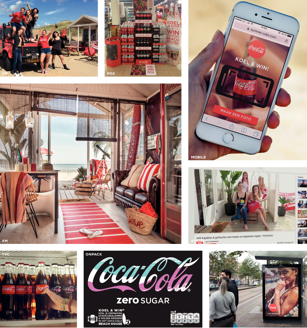 Coke makes your summer moments more special