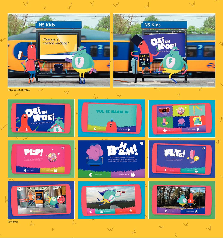 Op treinavontuur met de NS KidsApp