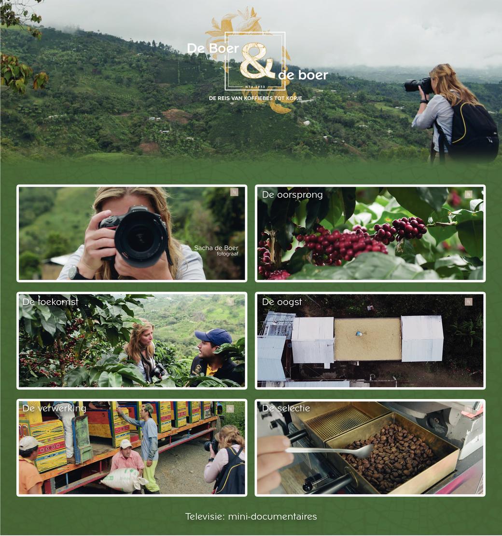 De Boer & de boer: De reis van koffiebes tot kopje