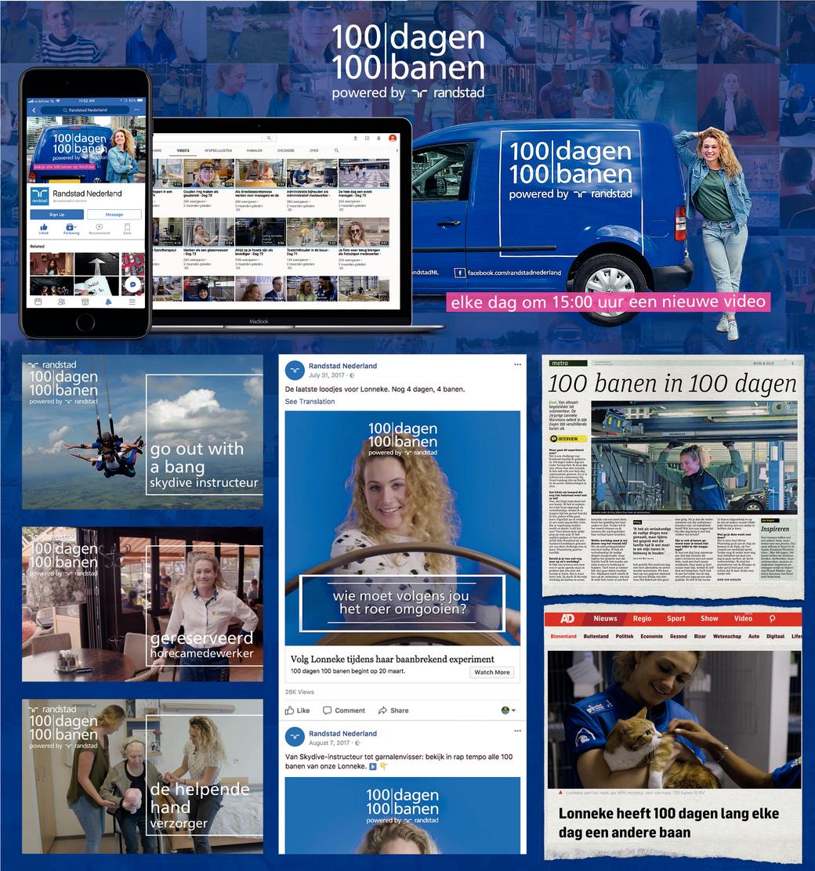 100 dagen | 100 banen