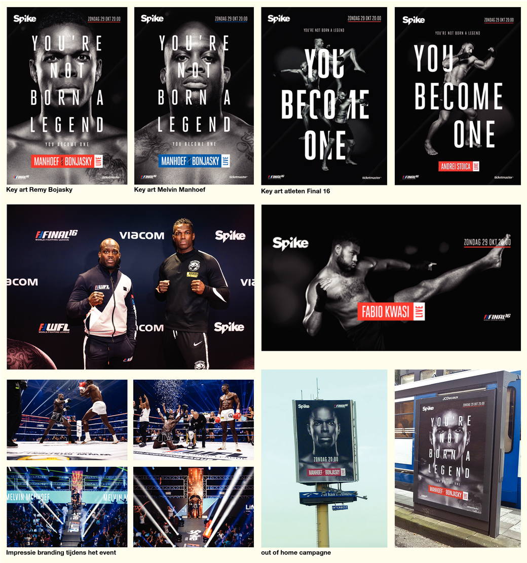 """Spike Presents: WFL Final 16 """"You're not born a legend, you'll become one"""""""