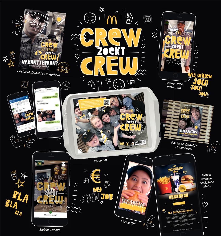 Crew zoekt Crew