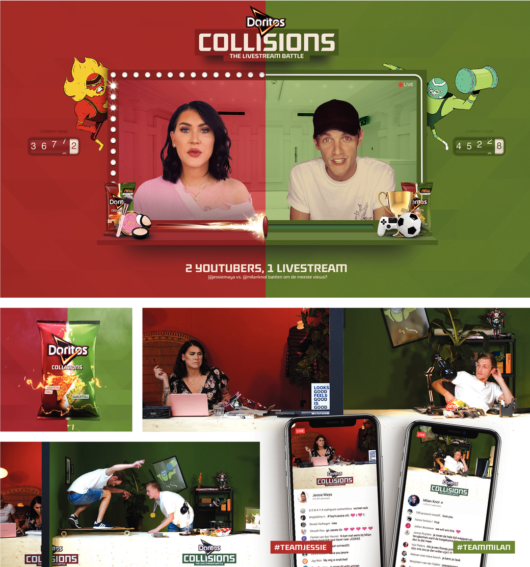 Doritos Collisions: The Livestream Battle