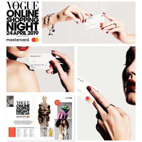 Mastercard verhoogt aandeel online betalingen door samenwerking met Vogue Online Shopping Night