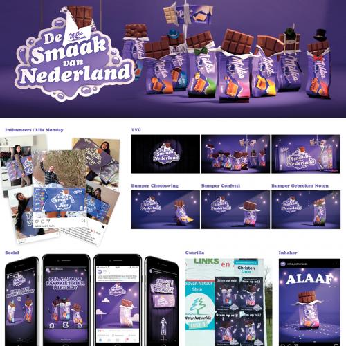 De Milka smaak van Nederland
