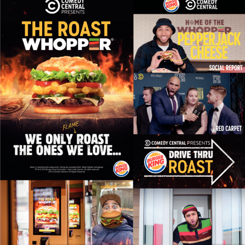 The Comedy Central Roast Whopper®