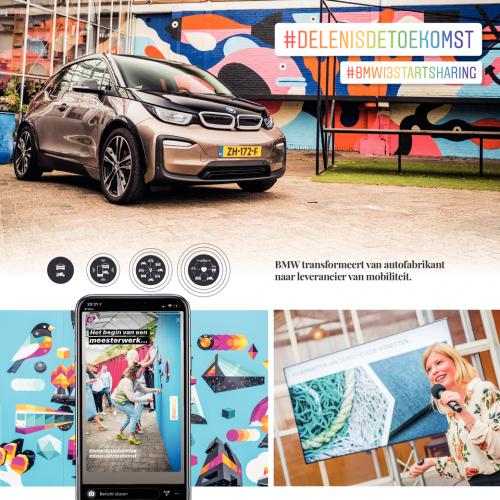 #bmwi3startsharing: influencers delen de auto van de toekomst