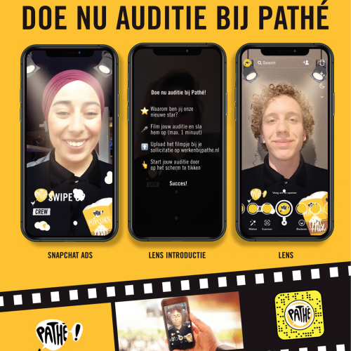Doe nu auditie bij Pathé