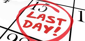 Deadline cases uitgesteld: 15 januari